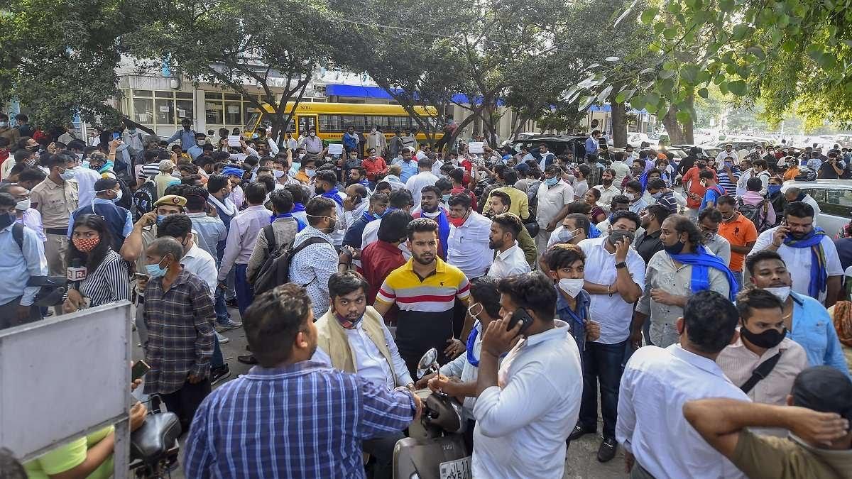 Hathras gangrape: Activists demand death penalty for accused